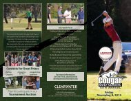 brochure - Clearwater Christian College