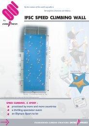 IFSC speed wall product sheet-1.pdf - Entre Prises Climbing Walls