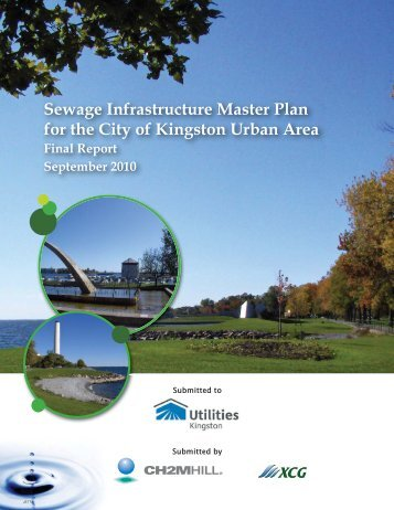 Sewage Infrastructure Master Plan for the City of ... - Utilities Kingston