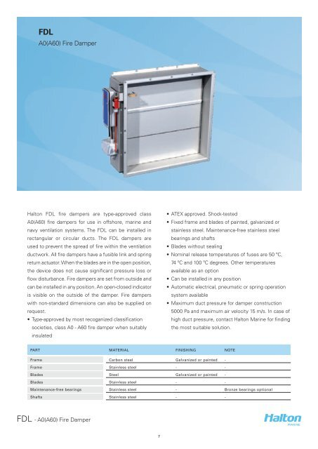 FDL - Halton Halton Wiring Diagrams on