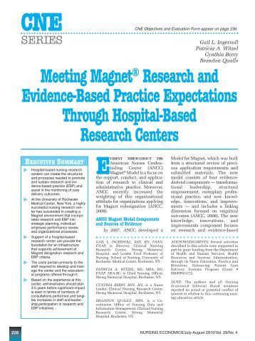 evidence based practice in nursing research papers