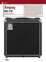 Ampeg BA-110 - Music Info