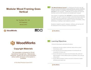 Modular Wood Framing Goes Vertical - WoodWorks