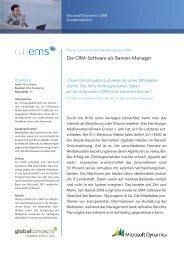 Sucess Story Gruner + Jahr EMS - Global Concepts