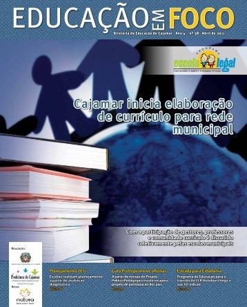 educação em foco - Prefeitura de Cajamar - Governo do Estado de ...