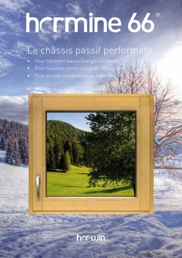 Le châssis passif performant - Proximedia
