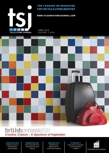 Creative Colours - A Spectrum of Inspiration - Tile and Stone Journal