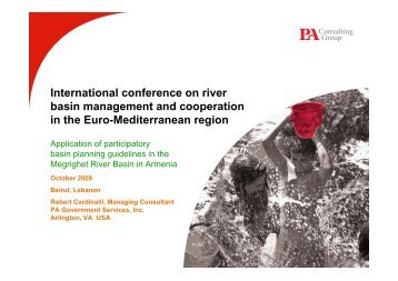 International conference on river basin management and ... - INBO