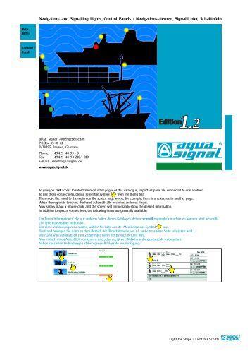 Navigation- and Signalling Lights, Control Panels - G & B Marine