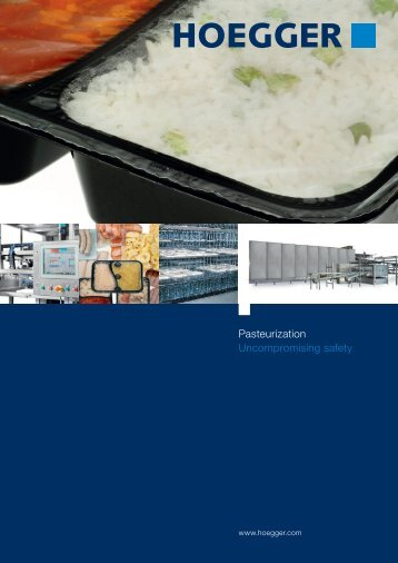 Pasteurization Uncompromising safety - Columbit
