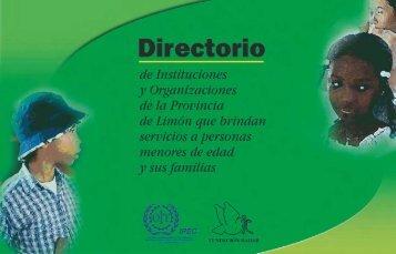 Directorio de Instituciones y Organizaciones de la Provincia de ...