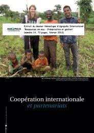 Coopération internationale et partenariats - Agropolis International