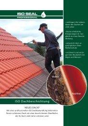 ISO Dachbeschichtung - Iso-Paint Dachbeschichtung