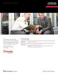 Hitachi Success Story with K7 Computing - Hitachi Data Systems