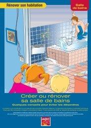 Créer ou rénover sa salle de bains - Agence Qualité Construction