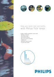 with Philips TUV lamps - Prolight