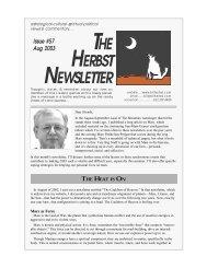 The Heat is On - Bill Herbst, astrologer