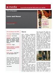 Love and Honor - Trigon Film