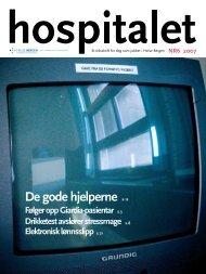 Hospitalet 2007 Nr 6.pdf - Helse Bergen