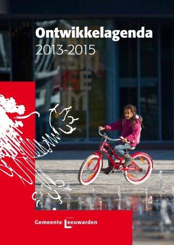 Ontwikkelagenda 2013-2015 - Gemeente Leeuwarden