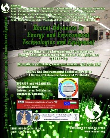 Recent advances in energy - Wseas.us