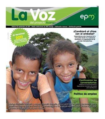 Edicion 2. Septiembre de 2011 - EPM