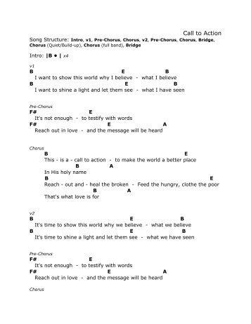Chord Chart - Victory World Music