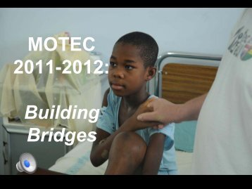 Building Bridges - MOTEC LIFE-UK