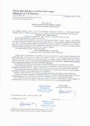 Obecní úřad Hodonice, stavební úřad I.stupně ... - Obec Hodonice