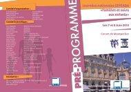 programme - Réseau PREVIOS