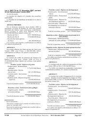 Loi de finances 2008 fr - Tunisian Industry Portal