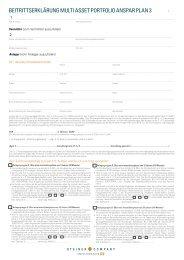 MAP Ansparplan 3 - GFI - Gesellschaft für Finanzen und ...