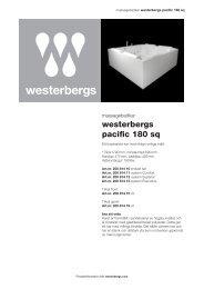 westerbergs pacific 180 sq - Bygghemma