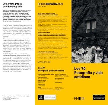 Los 70 Fotografía y vida cotidiana - Fundación Banco Santander