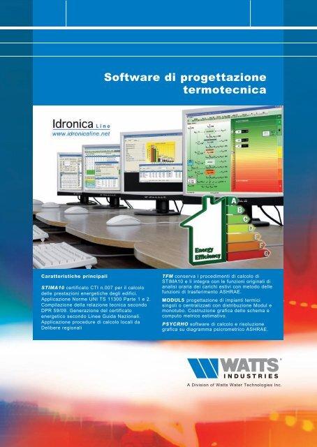 software di progettazione termotecnica idronicaline
