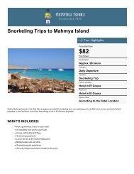 Snorkeling Trips to Mahmya Island - Memphis Tours Egypt