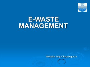 HAZARDOUS WASTE MANAGEMENT IN KARNATAKA
