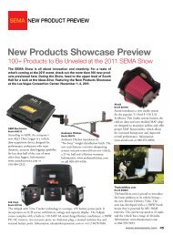 New Products Showcase Preview - Sema