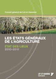 Etat des lieux - Lot-et-Garonne