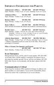 COMMUNITY HANDBOOK - Brewster Academy - Page 6