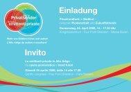 Einladung Invito - Fiera Bolzano