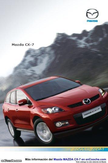 Ficha Mazda CX7 - enCooche.com