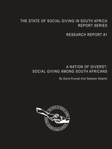 Reported - Centre for Civil Society - University of KwaZulu-Natal