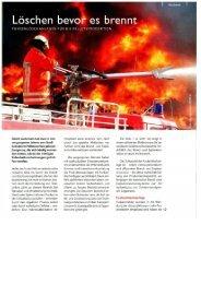 2009/01 - Löschen bevor es brennt - Funkenlöschanlagen ... - GreCon
