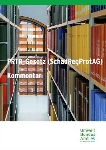 PRTR-Gesetz (SchadRegProtAG) - Thru.de