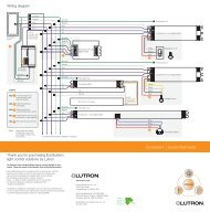 Lutron EcoSystem Wiring Diagram - Lutron Lighting Installation ...