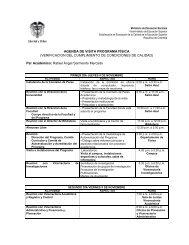 agenda de la Visita]. - Universidad de Pamplona