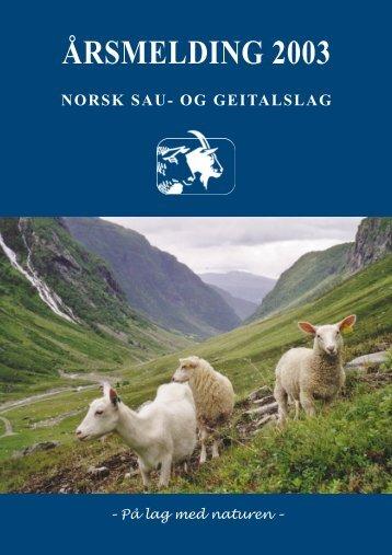 2003 - Norsk Sau og Geit
