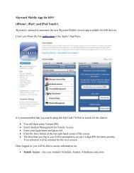 Apple Skyward Family Access App