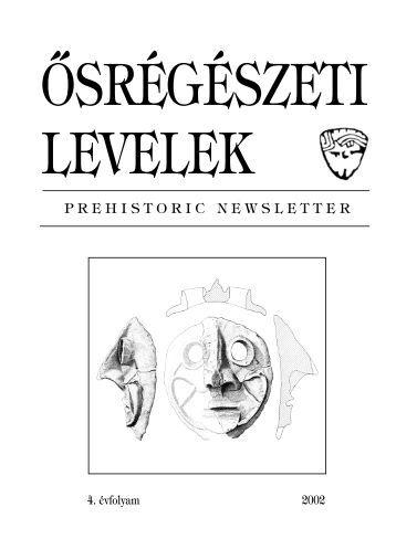 PDF - MTA Régészeti Intézet